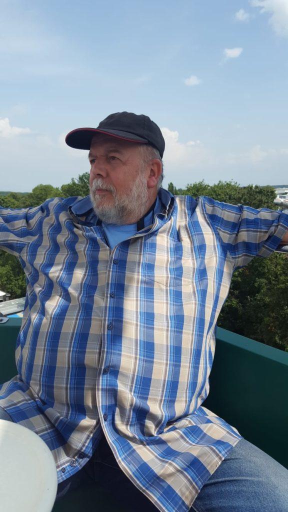 DAs Bild zeigt Jürgen Dürrschmidt - er ist Sprecher unserer Regionalgruppe und Autor in der Webseite