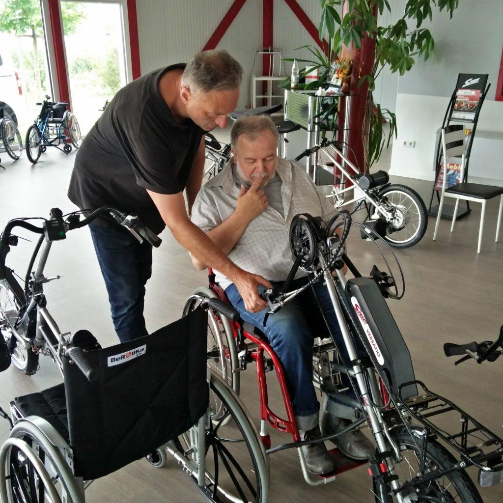 2018 – Wir testen Speedy Hand Bikes in Chemnitz