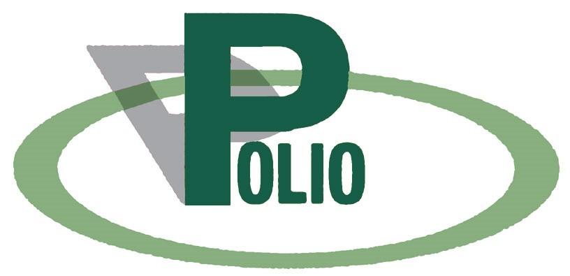 Das ist das Logo des Bundesverbandes Poliomyelitis e.V.