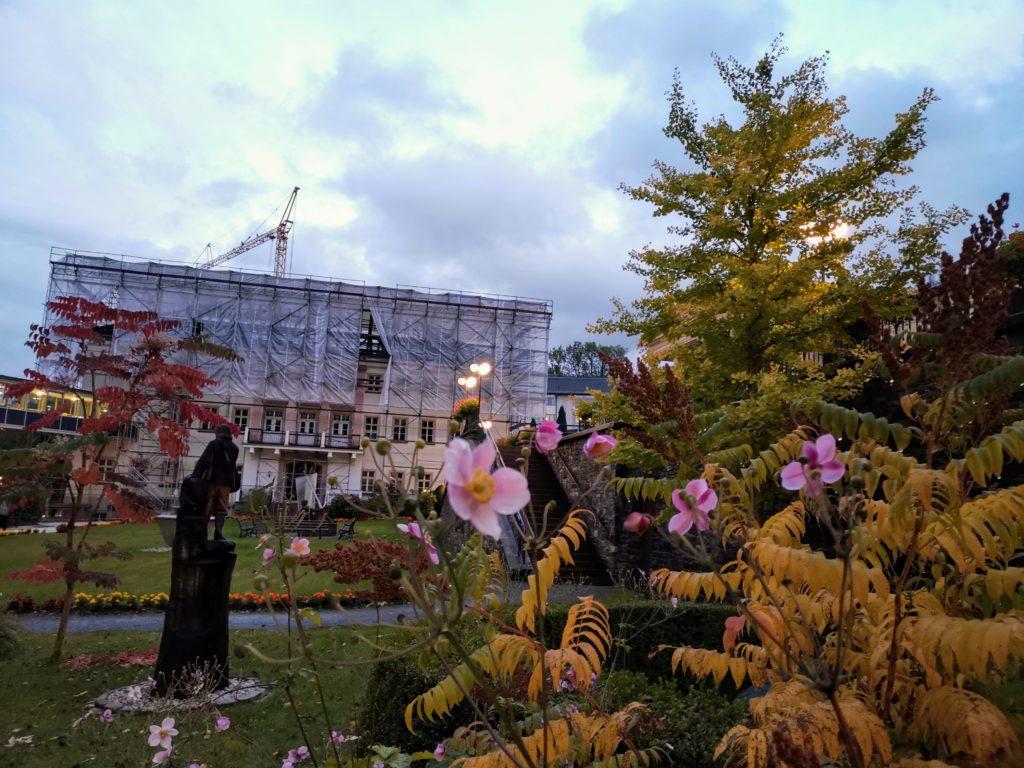 2020 – Erweiterung und Sanierung des Kurhaus in Thermalbad Wiesenbad