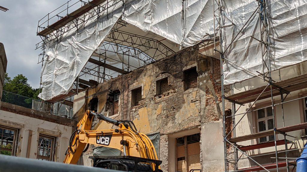 2020 - 2021 – Erweiterung und Sanierung des Kurhaus in Thermalbad Wiesenbad